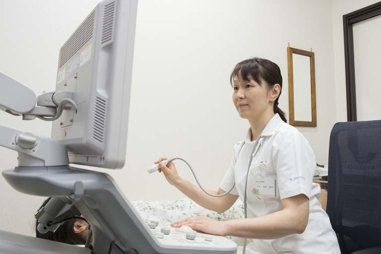 乳腺疾患(マンモグラフィー)・肛門疾患・胃腸疾患の診療・検査を行っています